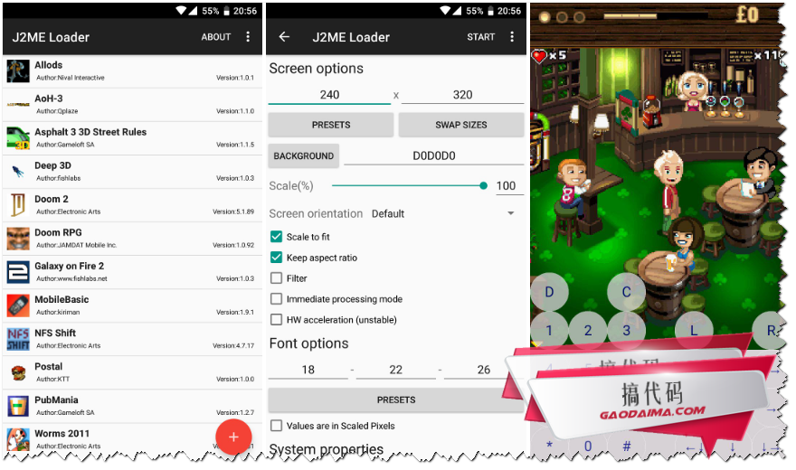 Android平台的J2ME开源模拟器J2ME-Loader